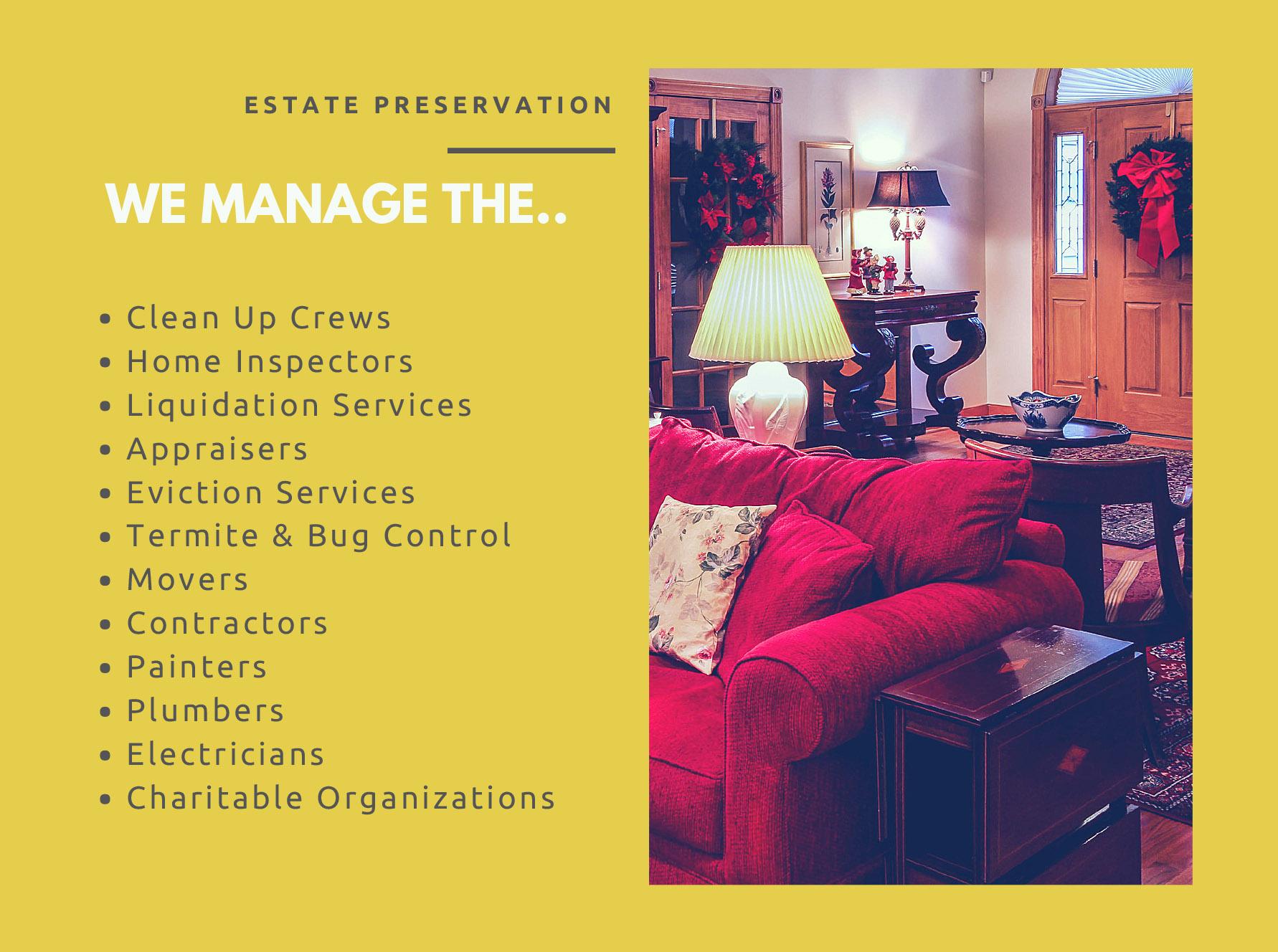 [Original size] Estate Transitions